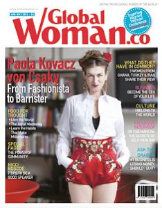 Advertise with Global Woman magazine