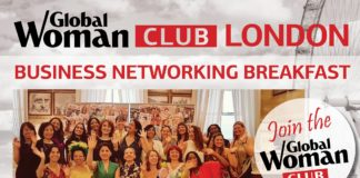 Business networking breaklfast event