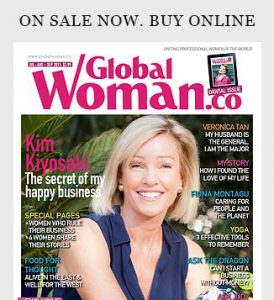Global Woman Magazine - on sale now