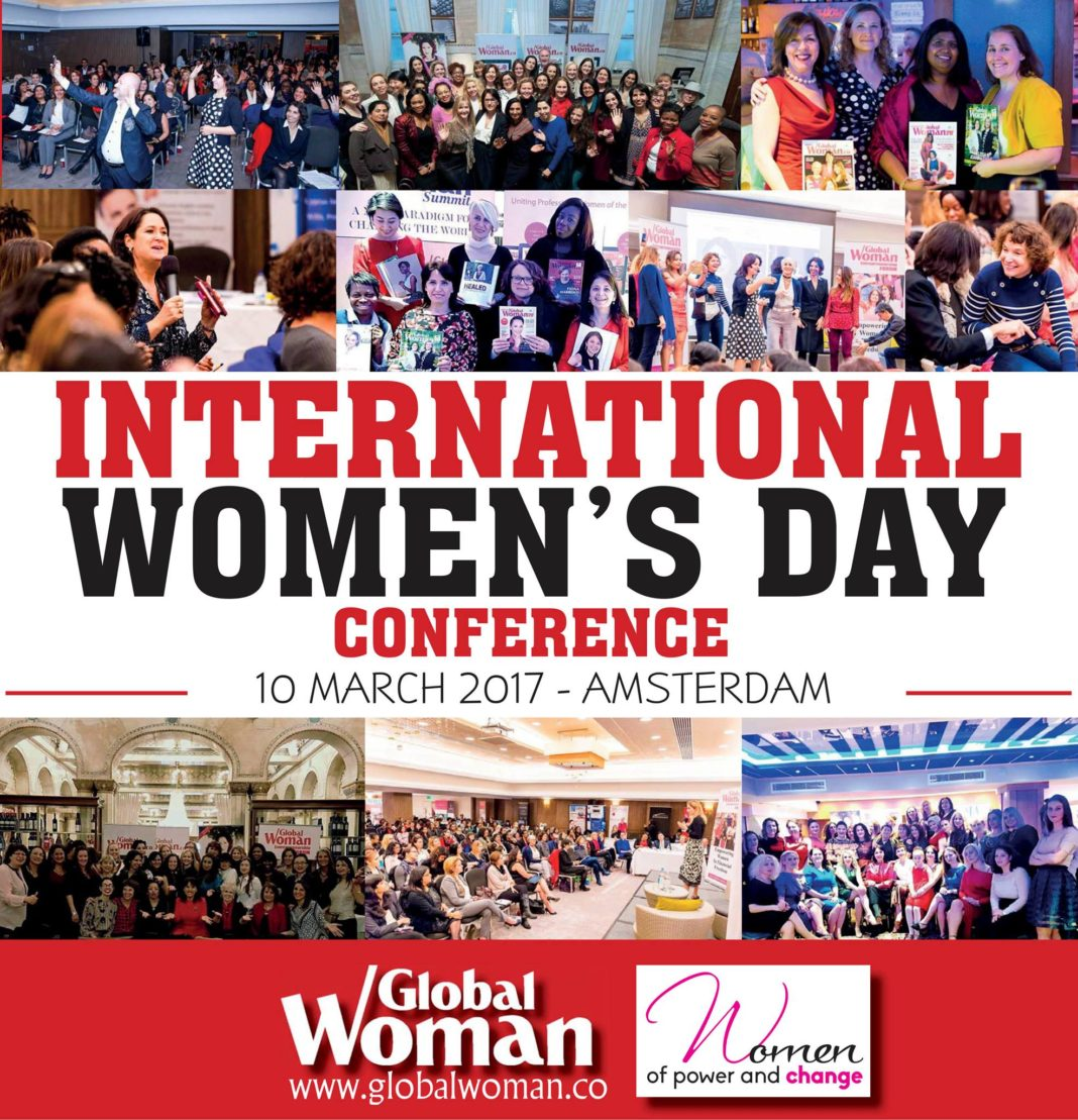 Global Woman magazine - Share with Friends