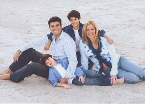 Dr. Fab Mancini and family