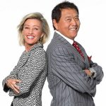Kim and Robert Kiyosaki