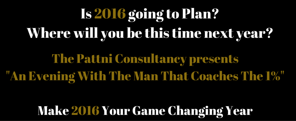 Is 2016 going to Plan-Where will you be this time next year-