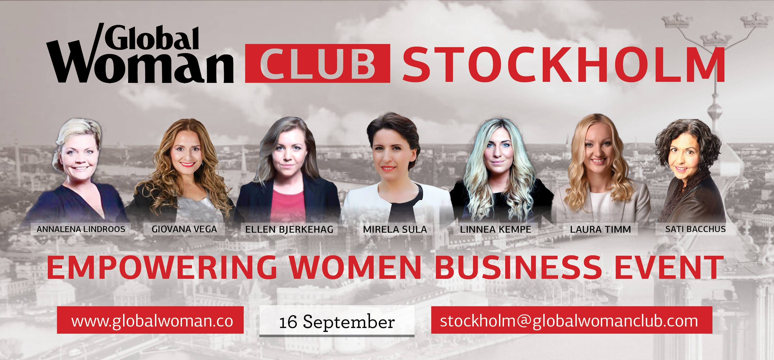 Global Woman Conference in Stockholm