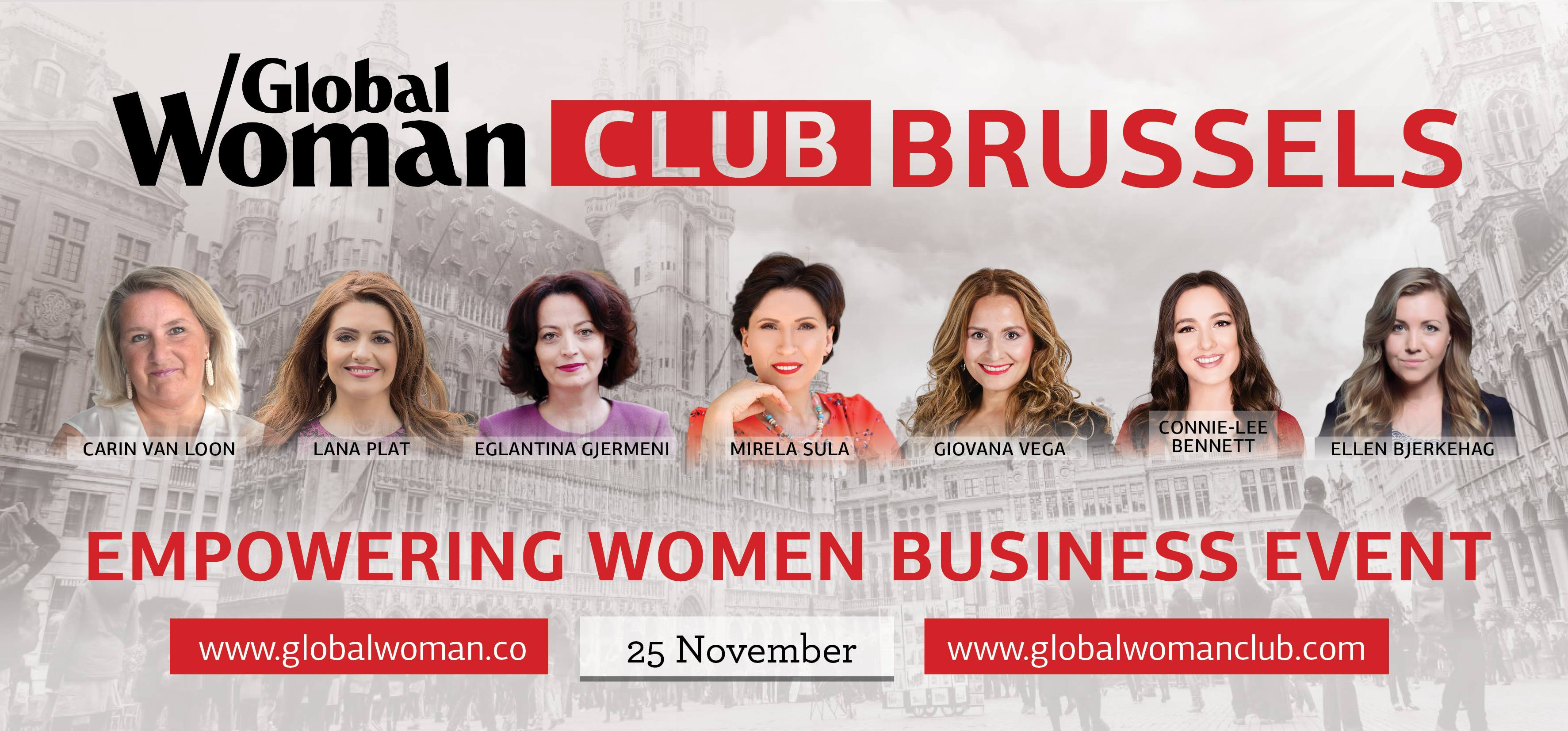 Empowering Women Business Event Brussels